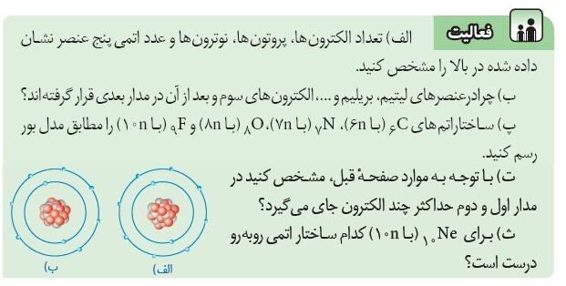 فعالیتصفحه 24 پاسخ نامه فعالیت هایعلوم هشتمفصل 3