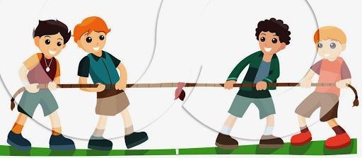 درسنامه (خلاصه ، جزوه و نکات) علوم ششم درس 6 : ورزش و نیرو (1) نیرو و طناب کشی